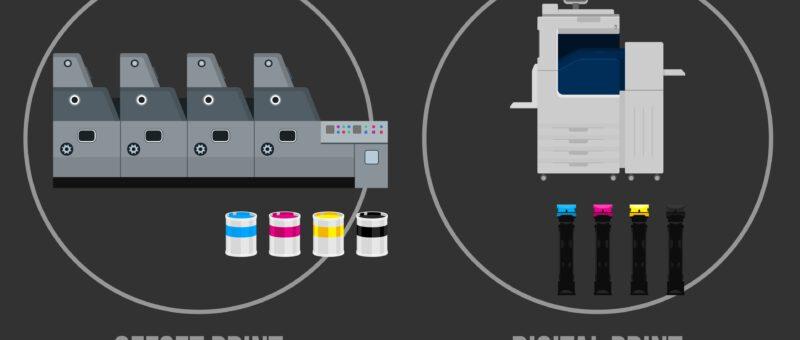 Imprenta Digital e Imprenta Offset: ¿Cuál Elegir? | Diferencias