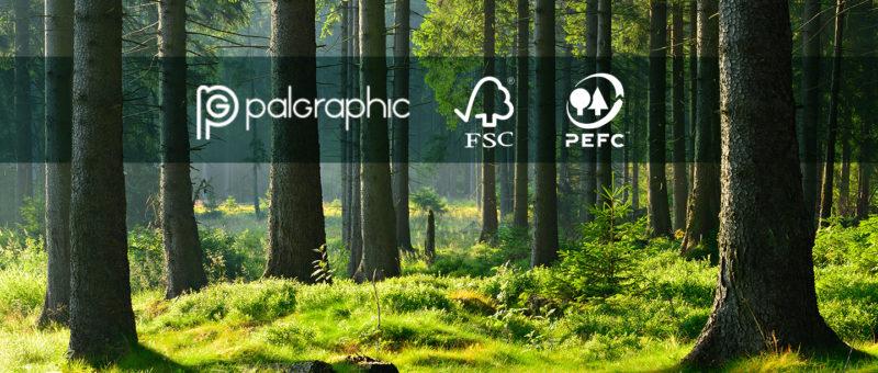 Palgraphic recibe las certificaciones FSC y PEFC | Imprenta en Madrid