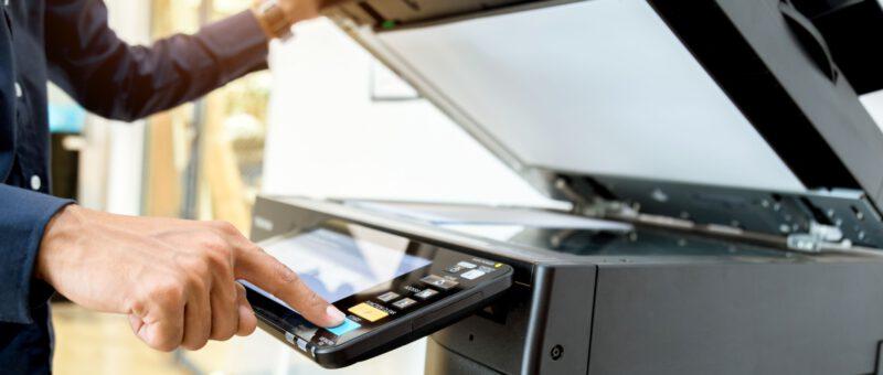 Impresora en la Oficina | Palgraphic Imprenta en Madrid