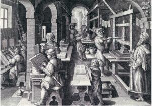 Imprenta Editorial y la figura del Impresor | Imprentas en Madrid